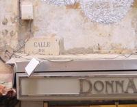 Calle de Jaime II. Aquesta no l'han poguda canviar