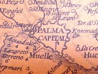 Detall del mapa del Cardenal Despuig (1784)