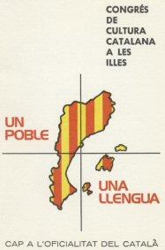 Fullet d'una campanya per l'oficialitat del català, que derivà en polèmica.